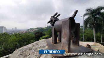 Escultor retiró cabra en mirador de Belalcázar - El Tiempo