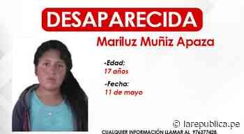 Puno: buscan a adolescente desaparecida hace una semana en Azángaro - LaRepública.pe