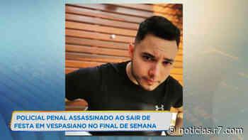 Policial penal é assassinado após festa em Vespasiano (MG) - HORA 7