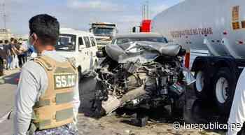 La Libertad: choque de vehículos deja una persona muerta en Virú - LaRepública.pe
