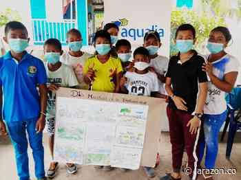 Con taller para niños de cabildo en Chimá, Aqualia conmemoró el día de la biodiversidad - LA RAZÓN.CO