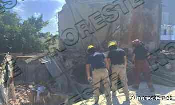 Rescatan a mujer entre los escombros en La Huaca - NORESTE