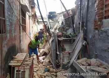 Se desploma vivienda en el barrio La Huaca; hay dos heridos - La Silla Rota