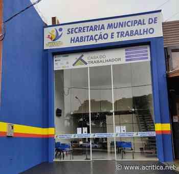 Casa do Trabalhador de Ivinhema abre oportunidade para jovem aprendiz - Portal do Jornal A Crítica de Campo Grande/MS