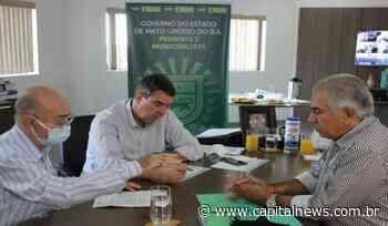 Prefeitos do Vale do Ivinhema solicitam obras de infraestrutura urbana - Capital News