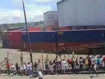 Puerto de Buenaventura, Colombia: Paro nacional inmoviliza más de 400 mil toneladas y navieras cesan recaladas - MundoMaritimo.cl