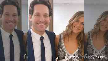 Was Jennifer Aniston Dating FRIENDS Co-Star Paul Rudd? Actress Once Confessed, 'I've Kissed Him For Years' - SpotboyE