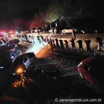 Festa clandestina com 70 pessoas é encerrada pela GM em Campo Largo - Paraná Portal