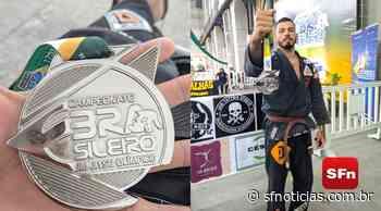 Atleta de Cambuci sobe ao pódio no Campeonato brasileiro de jiu-jitsu olímpico - SF Notícias