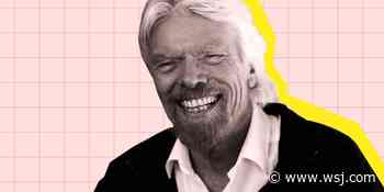 How Richard Branson, 70, Feels as Fit as He Did in His 20s - The Wall Street Journal