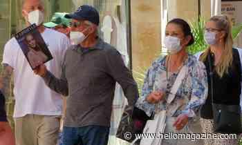 Catherine Zeta-Jones and Michael Douglas take family on sunny holiday to Spain - HELLO!