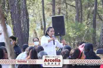 Invita Arcelia López Hernández a trabajar por un mejor Tlaxiaco - TV BUS Canal de comunicación urbana