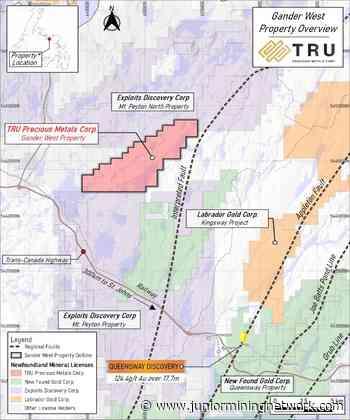 TRU Precious Metals Advances Phase One Exploration Program at Gander West Property - Junior Mining Network