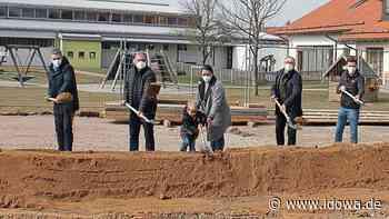 Spatenstich für den Neubau - Kinderhaus Zandt wird erweitert - idowa