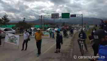 Alteraciones de orden público se registraron en Duitama, Sáchica y Sogamoso - Caracol Radio