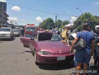 Aparatoso accidente sobre la avenida Eusebio Ayala   Ñanduti - Radio Ñanduti
