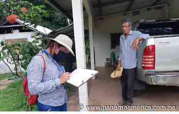 Realizan censo en Coclé para ejecutar el barrido de vacunación contra la covid-19 - Panamá América