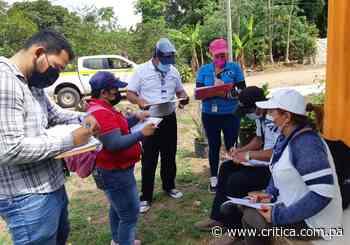 Censan Coclé para saber cuántas dosis de vacuna contra el Covid necesitan - Crítica Panamá