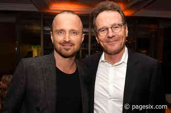 Bryan Cranston and Aaron Paul seem to have superhuman party powers - Page Six