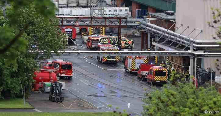 Brand im Siegwerk löst Großalarm in Siegburg aus - General-Anzeiger Bonn