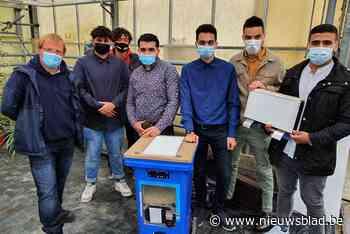 Ventileren met vuilnisbakken en les in de 'oerwoudklas': leerlingen bedenken eigen luchtzuivering