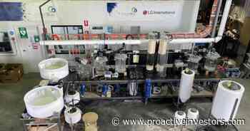 Cobalt Blue installs and commissions pilot plant in Broken Hill - Proactive Investors USA & Canada