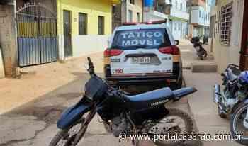 Moto furtada em Carangola é encontrada em Manhuaçu - Portal Caparaó