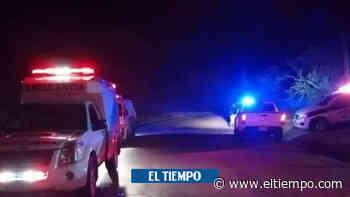 'Usted no me da órdenes': la discusión entre alcalde y un policía - El Tiempo