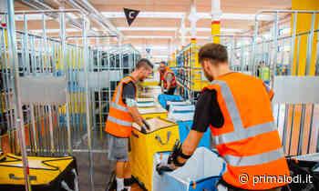 Si cercano magazzinieri per la sede Amazon di Castel San Giovanni - Prima Lodi
