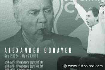 Homenaje del Cali a Alex Gorayeb en su aniversario 25 de fallecido - FutbolRed