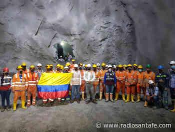 El Túnel de Amagá logra el cale y finaliza etapa de excavación de la calzada derecha - Radio Santa Fe