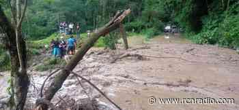 Ubalá, Cundinamarca, declara la alerta roja por ola invernal - RCN Radio