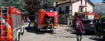 Albavilla, incendio in un garage Moto distrutta dalle fiamme - La Provincia di Como