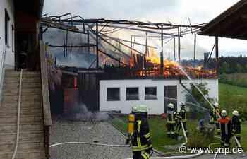 Stadel im Landkreis Freyung-Grafenau stand in Flammen - Passauer Neue Presse