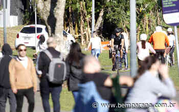 Em domingo de sol, curitibanos lotam parques e praças - Bem Paraná - Bem Paraná