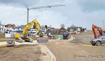 Attenhofen - Fortschritte im Baugebiet Wirtsleitn in Walkertshofen - idowa