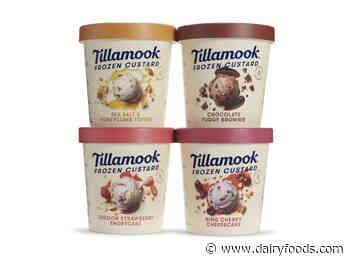 Tillamook County Creamery Association debuts frozen custards