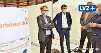 Mobiles Impfteam macht über Pfingsten in Brandis Station - Leipziger Volkszeitung