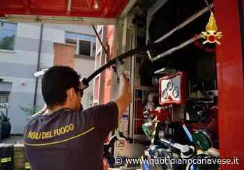 CIRIE' - Cavo elettrico «sfiamma vicino al benzinaio: intervento dei vigili del fuoco - QC QuotidianoCanavese