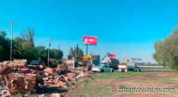 Vuelca tráiler sobre la autopista México Pachuca, a la altura de Tizayuca - Criterio Hidalgo