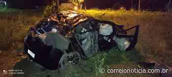 Morador de Santana do Ipanema morre depois de capotar carro em Olho D'água das Flores - Correio Notícia
