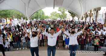 Lleva Chávez Padilla propuestas a parque La Purísima - NTR Zacatecas .com