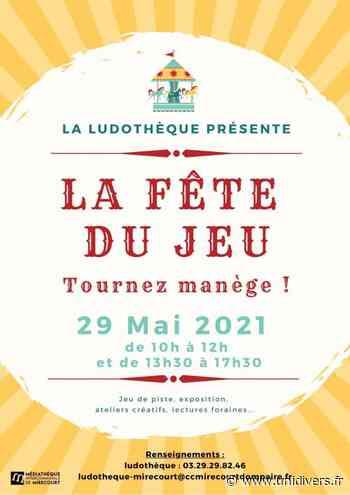 LA FÊTE DU JEU – LECTURES FORAINES Mirecourt samedi 29 mai 2021 - Unidivers