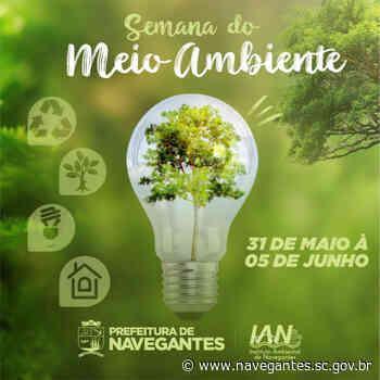 Navegantes prepara programação para a Semana do Meio Ambiente - Prefeitura de Navegantes