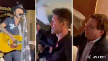 Se filtra el momento emotivo del Atlético: concierto privado de Leiva con Simeone y el alcalde - AS