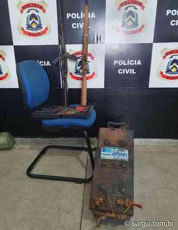 Polícia Civil apreende armas de fogo e objetos furtados em Miracema - Surgiu