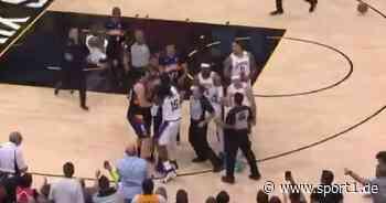 NBA-Playoffs: Lakers verlieren, Ärger um Foul an LeBron James - SPORT1