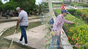 En Aracataca, alcaldía realiza jornada de limpieza y embellecimiento - Opinion Caribe