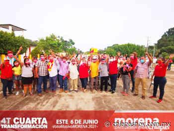 Pijijiapan refrenda el apoyo a MANACO » Diario Chiapas Hoy - Diario Chiapas Hoy