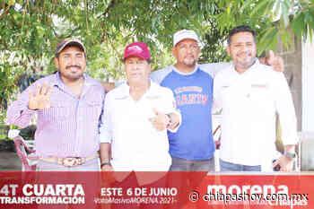 Manaco recibe el apoyo del Municipio de Pijijiapan » Diario Chiapas Hoy - Diario Chiapas Hoy